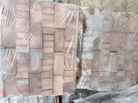 Клинкерный кирпич полнотелый, печной, пустотелый Бордо Каре М 300 1 нф, 0,7 нф