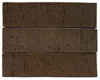 Клинкерный кирпич полнотелый, пустотелый, Коричневый Каре М 300