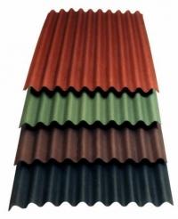 Ондулин Smart 950х1950, коричневый, красный, зеленый