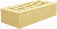 Кирпич лицевой солома/слоновая кость керамический 1НФ одинарный