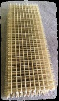 Сетка стеклопластиковая СКС 50*50*2.5 (2*0,5 м) (замена 4мм)