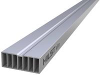 Лага алюминиевая 50*20мм с 6-ю!!! доп. ребрами жесткости.  для террасной доски