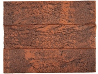 Клинкерный кирпич пустотелый, Красно-графитовый ручник М 300