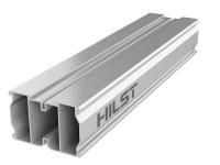 Лага алюминиевая 40*60мм с 2-я дополнительными ребрами жесткости для террасной доски