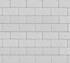 Плитка тротуарная белая 40 мм