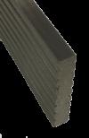 Декоративная планка торцевая/краевая для террасной доски Ecodeck, Darvolex, Holzdorf, Holzhof
