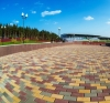 Тротуарная плитка серая 45 мм