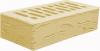 Кирпич солома/слоновая кость лицевой керамический 1,4НФ полуторный