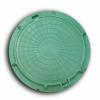 Люк полимер-песчаный Вектор d750/110 (7т) зеленый С
