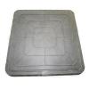 Люк полимер-песчаный квадратный 470х470мм h55 лаз (355х355мм) серый 30кН (3т)