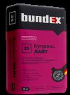 Штукатурка гипсовая БУНДЕКС ЛАЙТ для ручного и машинного нанесения (25 кг)