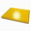 Сотовый поликарбонат SUNNEX (12 м,6 мм, Желтый)