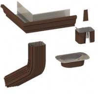Система водосточная прямоугольная металл
