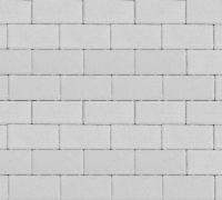 Плитка тротуарная белая 60 мм
