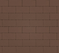 Плитка тротуарная коричневая 60 мм