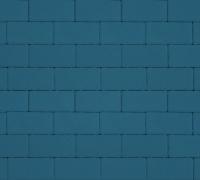 Плитка тротуарная синяя 60 мм