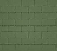 Плитка тротуарная зеленая 40 мм