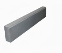 Поребрик бетонный серый 1000*200*80, бордюр