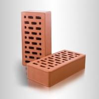 Кирпич керамический рядовой пустотелый Красный 1 НФ