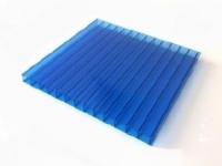 Сотовый поликарбонат SUNNEX (12 м,4 мм, Синий)