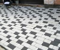 Плитка тротуарная серая 45 мм