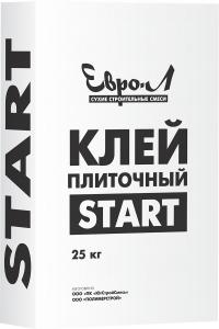 """""""ЕВРО-Л"""" Клей плиточный СТАРТ/25кг (48)"""