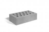 Кирпич керамический 1,4НФ полуторный лицевой серебро