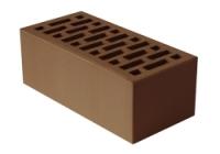 Кирпич шоколад лицевой керамический 1,4НФ полуторный