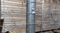 Сетка металлическая оцинкованная заборная Волна в рулонах