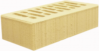Кирпич лицевой солома керамический 1НФ одинарный