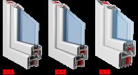 Окна и двери из профиля KBE