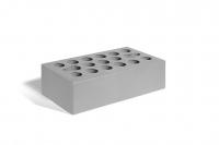 Кирпич керамический 1НФ одинарный лицевой серебро