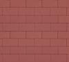 Плитка тротуарная красная 40 мм