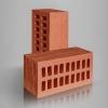 Кирпич керамический лицевой пустотелый красный CORTEX 1,4НФ