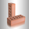Кирпич керамический рядовой полнотелый М 250 1 НФ