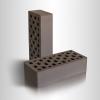 Кирпич керамический рядовой пустотелый Коричневый 1 НФ