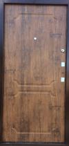 Двери входные металлические - порошковая покраска мед. антик