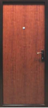 Двери входные металлические - порошковая покраска мед. антик (экономичная)