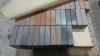 Кирпич облицовочный, баварская кладка, флэшинг, Кора дуба, с песком, гладкий, 1НФ