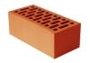 Кирпич красный лицевой керамический 1,4НФ полуторный
