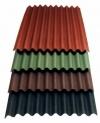 Ондулин Smart 950х1950 коричневый, красный, зеленый
