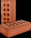 Кирпич рядовой полнотелый М 150-175