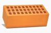 Кирпич керамический 1,4НФ полуторный лицевой персик
