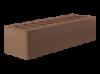 Кирпич керамический 0,7НФ евро лицевой мокко, коричневый