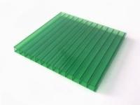 Сотовый поликарбонат SUNNEX (12 м,8 мм, Зеленый)